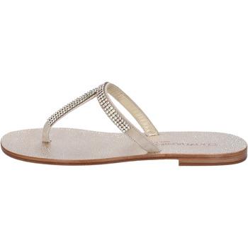 Schuhe Damen Sandalen / Sandaletten Eddy Daniele sandalen beige wildleder swarovski aw15 beige
