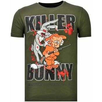 Kleidung Herren T-Shirts Local Fanatic Killer Bunny Strass Grün