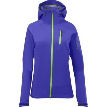 Kleidung Damen Fleecepullover Salomon QUEST HIKE TRIP 3 IN 1 120659 blau