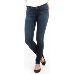 Kleidung Damen Röhrenjeans Wrangler Courtney blue shelter W23SU466N blau