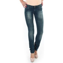 Kleidung Damen Röhrenjeans Wrangler Spodnie  Molly 251XB23C blau
