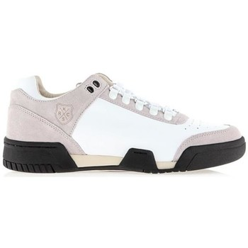 Schuhe Herren Sneaker Low K-Swiss Gstaad Neu Lux 03766-128 weiß