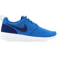 Schuhe Sneaker Low Nike Roshe One GS 599728-417 niebieski