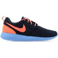 Schuhe Damen Sneaker Low Nike Roshe One GS 599729-408 niebieski