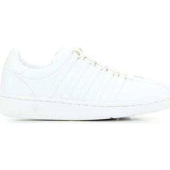 Schuhe Damen Tennisschuhe K-Swiss Classic VN 50TH 93944-955 weiß