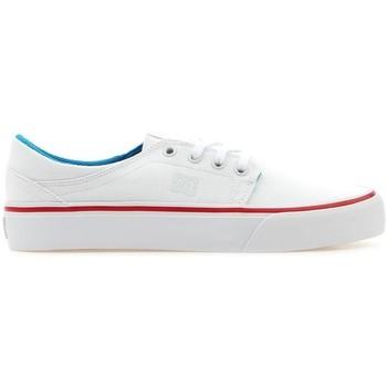 Schuhe Damen Sneaker Low DC Shoes DC Trease TX ADJS300078-WUR weiß