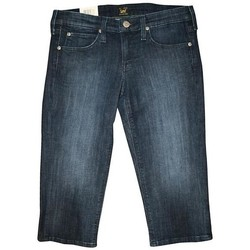 Kleidung Damen Shorts / Bermudas Lee CAPRI L352EWNS niebieski