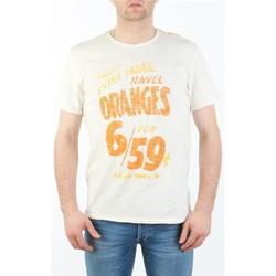 Kleidung Herren T-Shirts Lee MARCANTILE L668ABBC biały