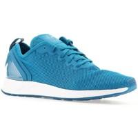 Schuhe Herren Sneaker Low adidas Originals Adidas ZX Flux ADV SL S76555 blau