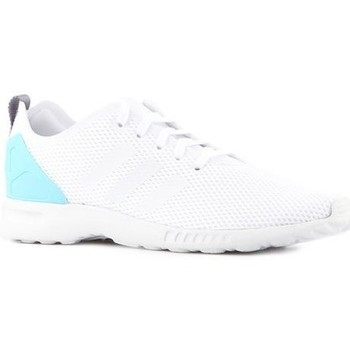 Schuhe Damen Sneaker Low adidas Originals Adidas ZX Flux Adv Smooth S78965 weiß
