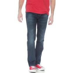 Kleidung Herren Straight Leg Jeans Wrangler Jeanshose  Arizona Stretch W12O8343C dunkelblau
