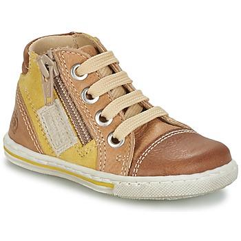 Schuhe Kinder Sneaker High Citrouille et Compagnie MIXINE Braun