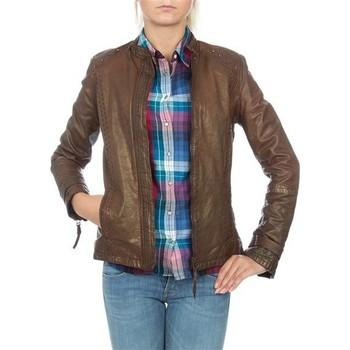Kleidung Damen Jacken / Blazers Wrangler skórzana  WR4030ZC81 braun