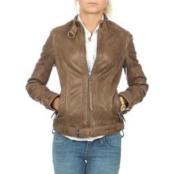 Kleidung Damen Jacken / Blazers Wrangler skórzana  Montana WR4044ZCBR braun