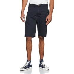 Kleidung Herren Shorts / Bermudas Wrangler Kurze Hose  Chino Shorts W14MLL49I dunkelblau
