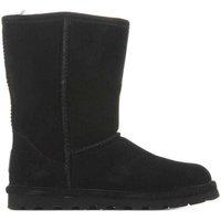 Schuhe Damen Schneestiefel Bearpaw Elle Short 1962W Black II schwarz