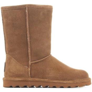 Schuhe Damen Schneestiefel Bearpaw Elle Short 1962W Hickory II braun