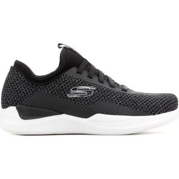 Schuhe Herren Sneaker Low Skechers Matrixx Bransin 52662-BKW szary