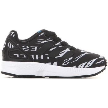 Schuhe Kinder Sneaker Low adidas Originals Adidas ZX Flux EL I BB2434 schwarz