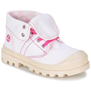 Schuhe Mädchen Boots Citrouille et Compagnie BASTINI Weiss