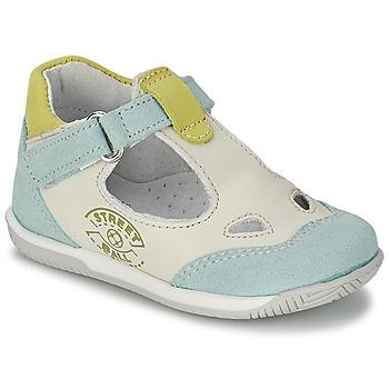Schuhe Jungen Sandalen / Sandaletten Citrouille et Compagnie XOULOU Weiss / Blau / Grün