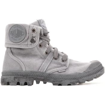 Schuhe Damen Sneaker High Palladium Pallabrouse Baggy 92478-066 szary