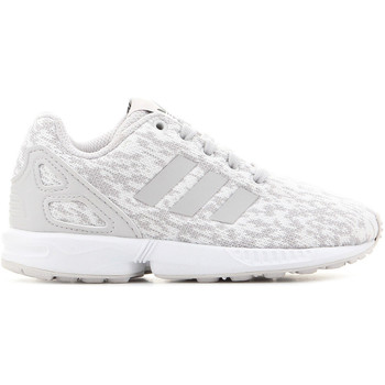 Schuhe Kinder Sneaker Low adidas Originals Adidas ZX Flux C BY9857 szary