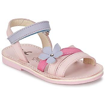 Schuhe Mädchen Sandalen / Sandaletten Citrouille et Compagnie ERTUNA Multifarben