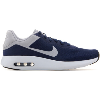 Schuhe Herren Sneaker Low Nike Mens Air Max Modern Essential 844874 402 dunkelblau