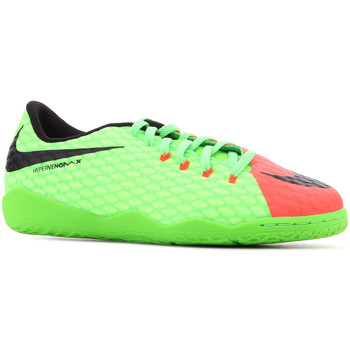 Schuhe Kinder Sandalen / Sandaletten Nike JR Hypervenomx Phelon III IC 852600 308 grün, orange