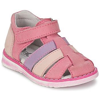 Schuhe Mädchen Sandalen / Sandaletten Citrouille et Compagnie FRINOUI Rose / Fuchsienrot