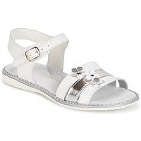 Schuhe Mädchen Sandalen / Sandaletten Citrouille et Compagnie KATAGUE Weiss