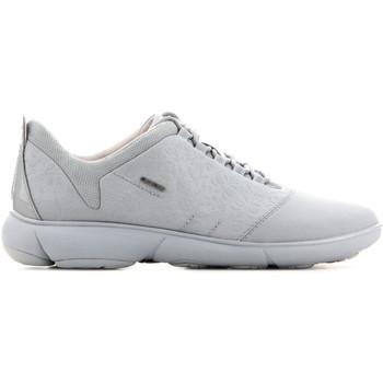 Schuhe Damen Sneaker Low Geox D Nebula A - Print.Text + Text D621EA 0AN11 C4004 zielony