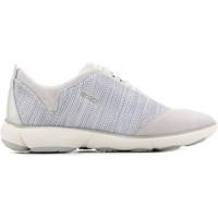 Schuhe Damen Sneaker Low Geox D Nebula C D621EC 06K22 C1002 brązowy, szary