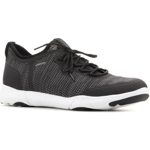 Geox U Nebula X A U826BA 0006K C9999 schwarz  Schuhe Sneaker Low Herren 105,38