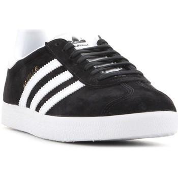 Schuhe Herren Sneaker Low adidas Originals Adidas Gazelle BB5476 schwarz, weiß
