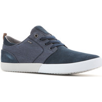 Schuhe Herren Sneaker Low Geox U Smart B Suede+Wash.Canvas U82X2B 022NB C4000 granatowy
