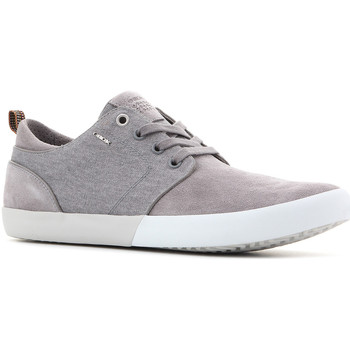 Schuhe Herren Sneaker Low Geox U Smart B Suede+Wash.Canvas U82X2B 022NB C9007 szary