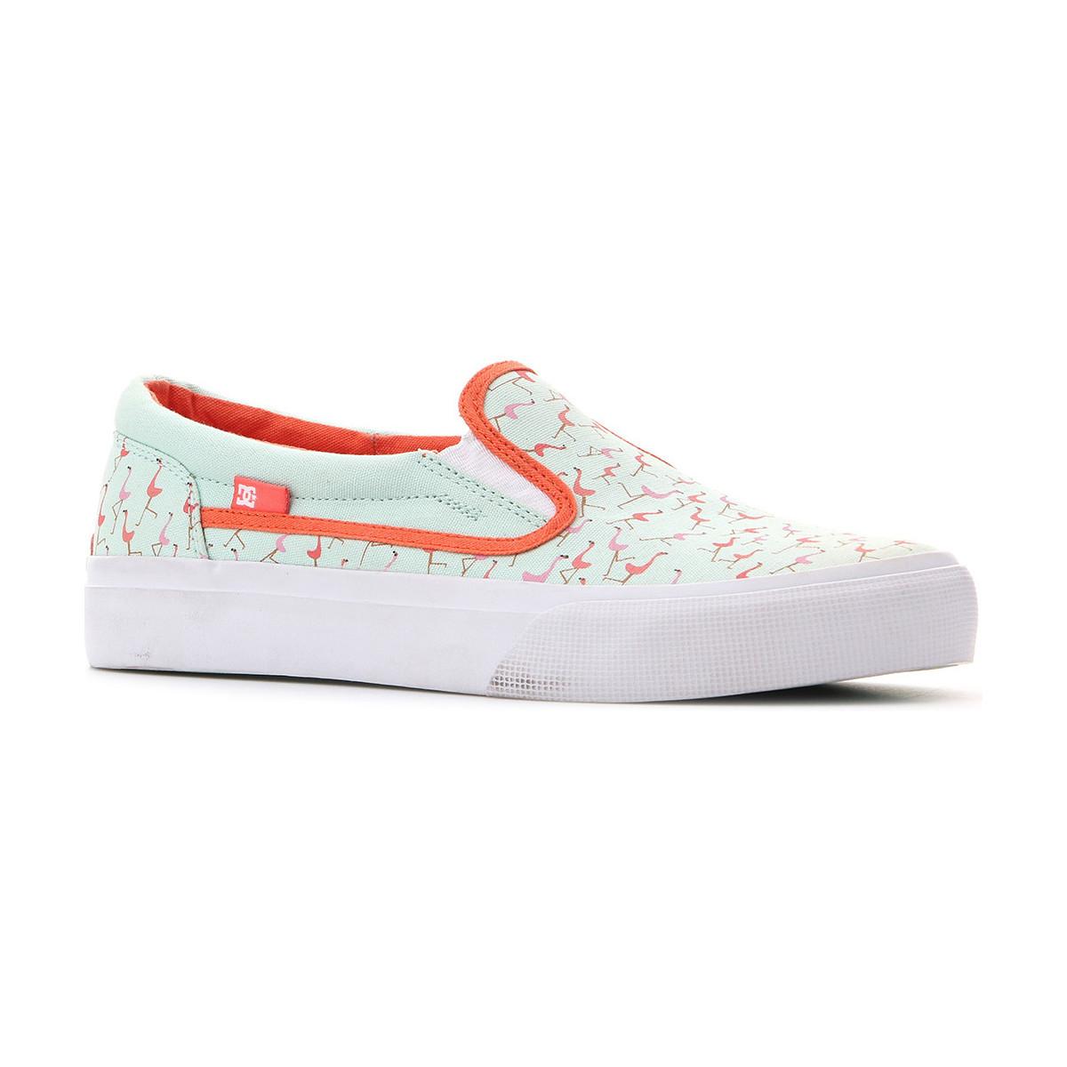 DC Shoes DC Trase ADBS300135 MIB Wielokolorowy - Kostenloser Versand bei Spartoode ! - Schuhe Slip on Damen 47,29 €