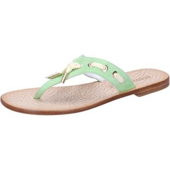 Schuhe Damen Sandalen / Sandaletten Eddy Daniele sandalen grün wildleder aw326 grün