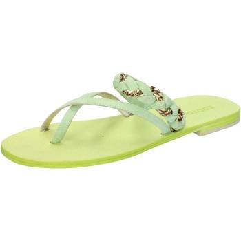 Schuhe Damen Sandalen / Sandaletten Eddy Daniele sandalen grün wildleder aw169 grün