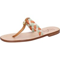 Schuhe Damen Sandalen / Sandaletten Eddy Daniele sandalen mehrfarben corda leder ax953 mehrfarben