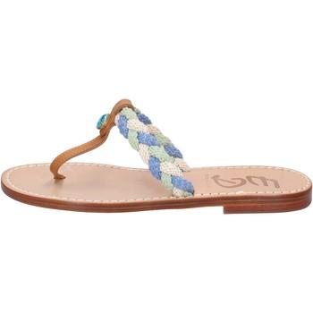 Schuhe Damen Sandalen / Sandaletten Eddy Daniele sandalen mehrfarben leder aw522 mehrfarben