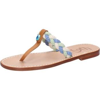 Eddy Daniele sandalen mehrfarben leder aw522 mehrfarben - Kostenloser Versand |  - Schuhe Sandalen / Sandaletten Damen 3999