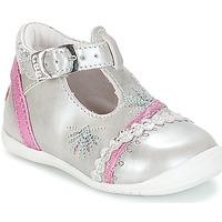 Schuhe Mädchen Ballerinas GBB MARINA Silber-fuchsia / Dpf / Kezia