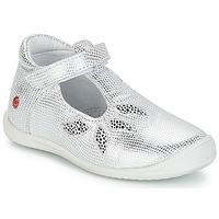 Schuhe Mädchen Ballerinas GBB MARGOT Silbern / Dpf / Zafra