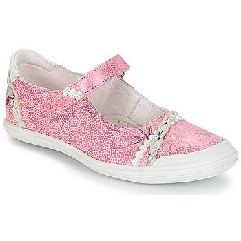 Schuhe Mädchen Ballerinas GBB MARION Rose-weiss / Dpf / Zara