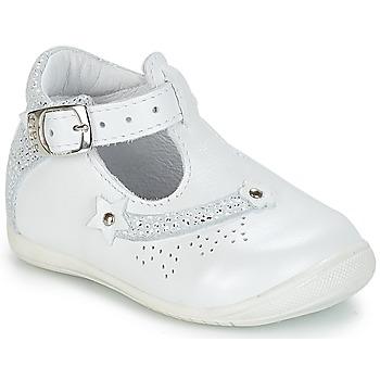Schuhe Mädchen Sandalen / Sandaletten GBB PASCALE Weiss / Dpf / Kezia