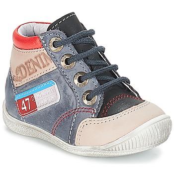 Schuhe Jungen Boots GBB PANCRACE Grau-jeans / Dpf / Raiza