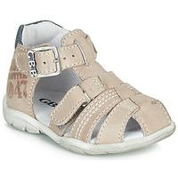 Schuhe Jungen Sandalen / Sandaletten GBB PRIGENT Grau